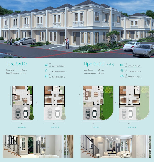 Alton House 6 x 10