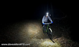 Night Mountain Biking