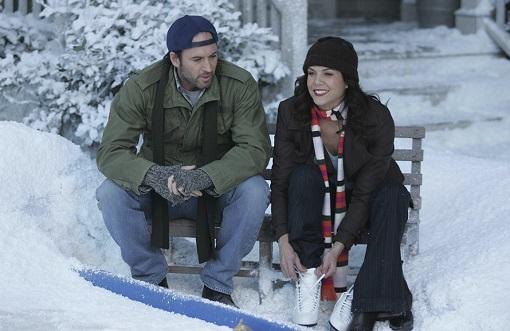 Scott Paterson y Lauren Graham en Gilmore Girls