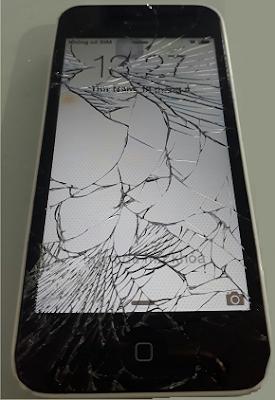 thay màn hình iPhone 5C bị vỡ giá rẻ