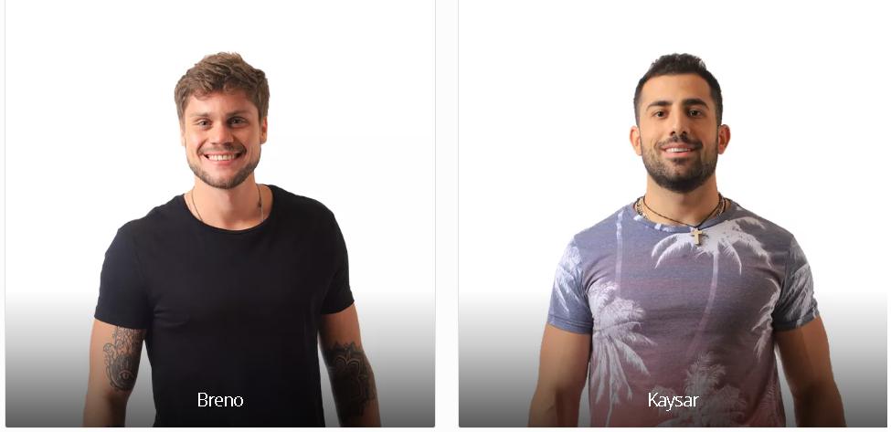 Vote no Paredão do BBB18 desta semana: BRENO X KAYSAR e veja a enquete de quem esta ganhando