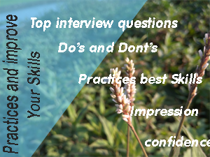 top interview tips and tricks
