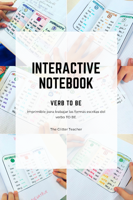 Download the Interactive Notebook Verb TO BE printable