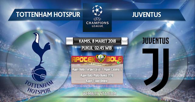 Cuplikan Hasil Pertandingan Tottenham Hotspur vs Juventus 8 Maret 2018  |  Agen Bola Terpercaya