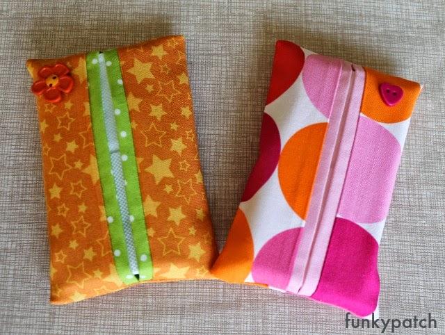 Tutorial para hacer una funda para pañuelos de papel funkypatch