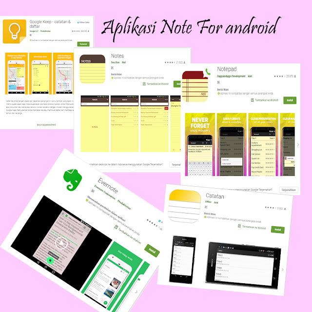 Aplikasi Note dan Memo Untuk Memudahkan Kamu Membuat Catatan Digital