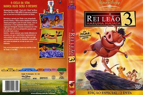 O Rei Leão 3: Hakuna Matata (The Lion King 1 ½) Torrent