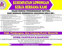 Lowongan Kerja Dosen dan Staf Stmik Pamitran Karawang September 2016