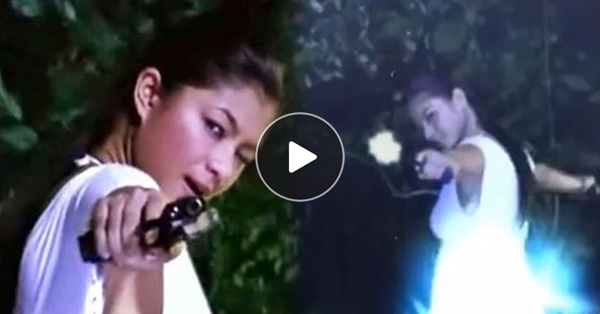 Despite Wearing A Dress, Angel Locsin Still Managed To Pull Off A Great Action Scene!