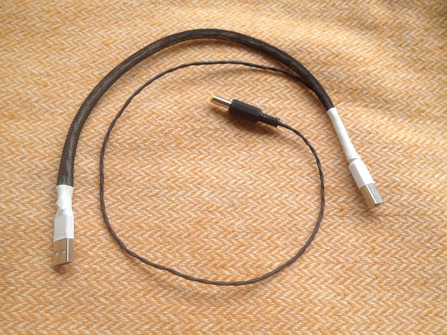 DIY usb cable solid core - Grizzlyaudio