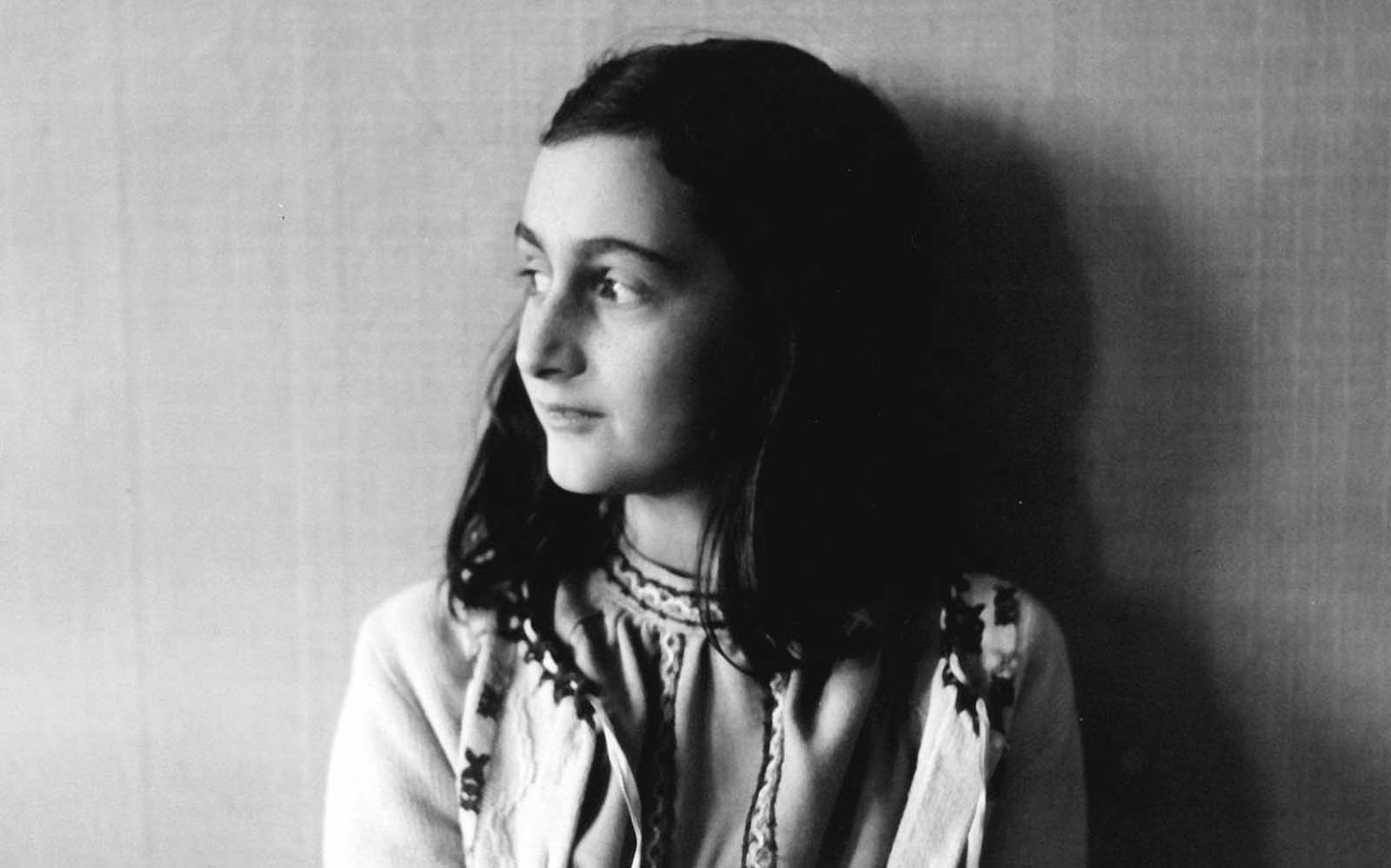 Anne Frank poses in 1941 in this photo made available by Anne Frank House in Amsterdam, Netherlands. It is astonishing how some photos from the period have crystal clarity like this, but it does happen depending upon how well they were preserved over time.