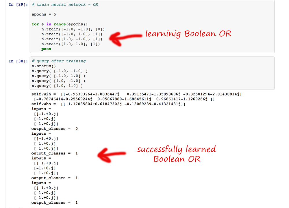 Make Your Own Neural Network: Complex Valued Neural Networks