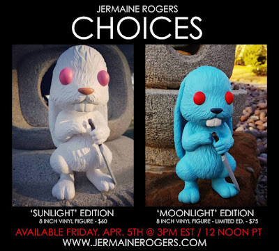 Choices Vinyl Figure Sunlight & Moonlight Editions by Jermaine Rogers