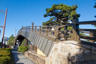 Hyakutai-bashi Bridge, Soka-shi.