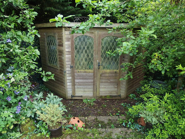 My shed at the bottom of the garden