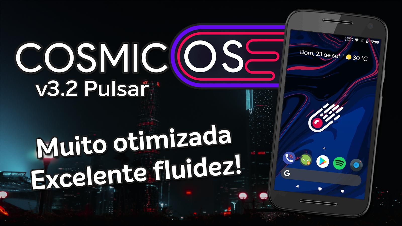 Cosmic OS v3 2 Pulsar | Android 8 1 0 Oreo | ROM OTIMIZADA! Motorola