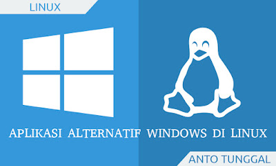 aplikasi alternatif pengganti windows di linux