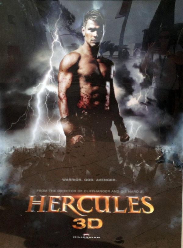 The Legend of Hercules Movie Poster 2014 Kellan Lutz, Gaia ... |Kellan Lutz Hercules Poster