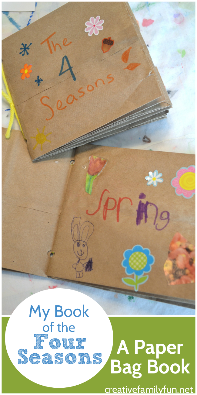 My Book of the Four Seasons: A Paper Bag Book
