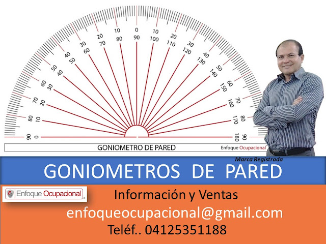 Goniómetro de Pared, ventas, distribución, Goniometria