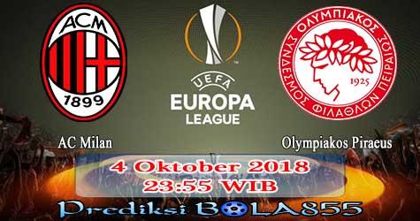 Prediksi Bola855 AC Milan vs Olympiakos Piraeus 4 Oktober 2018
