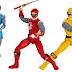 Novos bonecos de Power Rangers chegam nos Estados Unidos