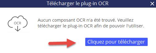 Installer le plug-in OCR