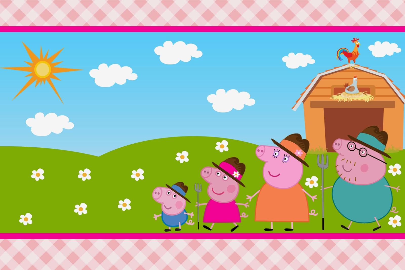 Convites Grátis Para Festa Da Peppa Pig