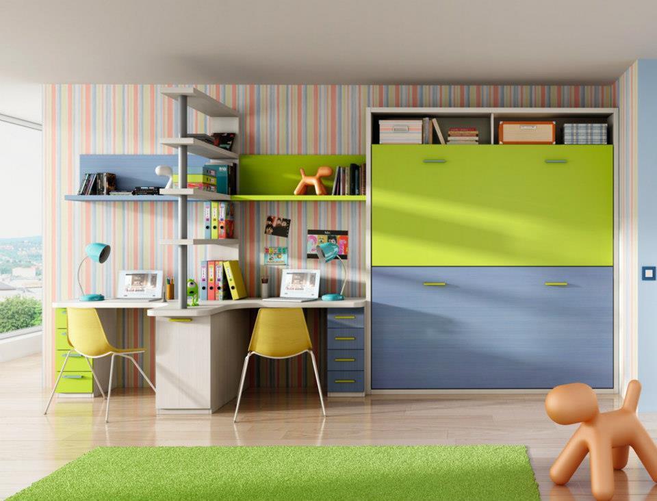 Soluciones para habitaciones peque as for Recamaras pequenas para ninos