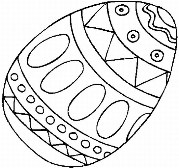printable coloring pages easter eggs - photo#9