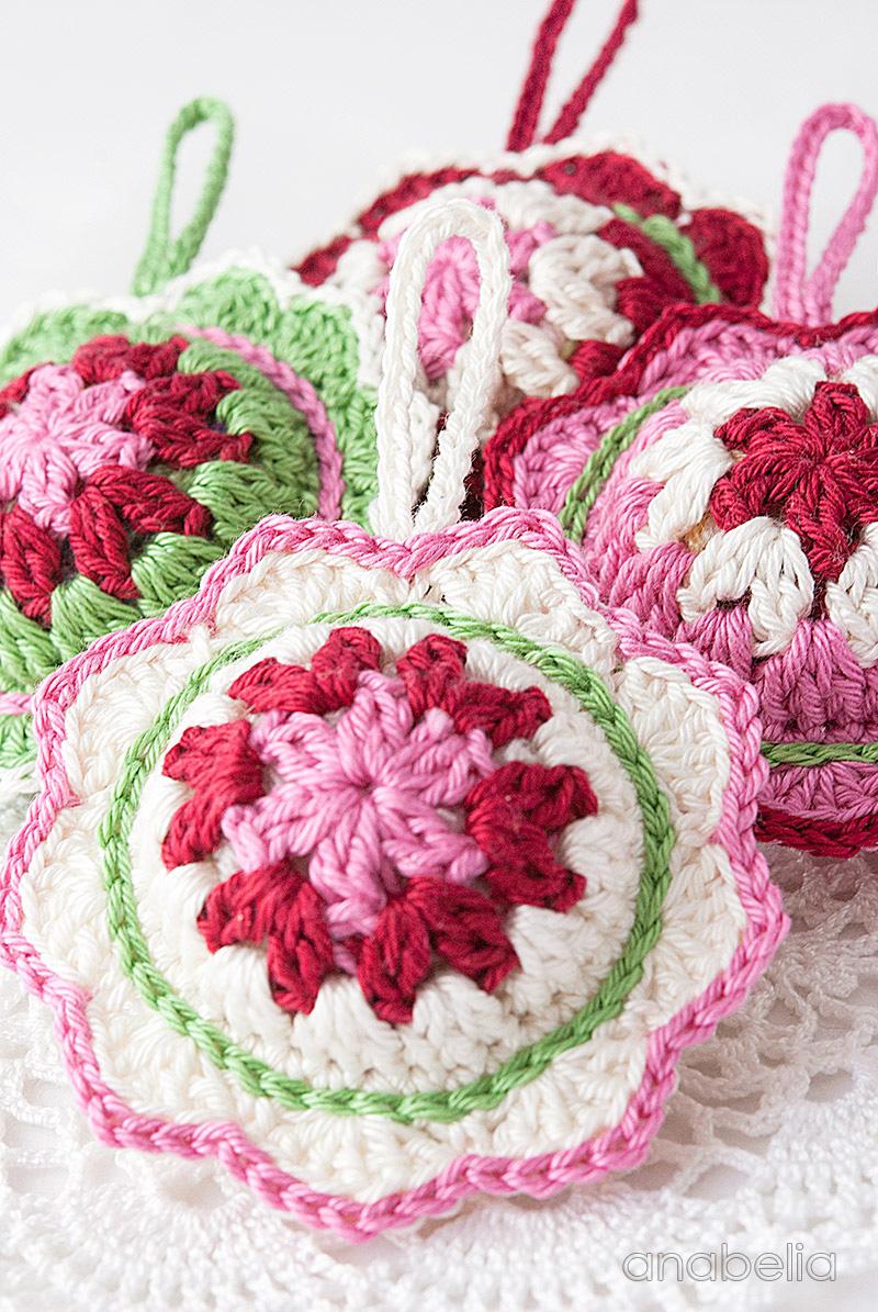 Anabelia craft design: New Christmas crochet ornaments ...