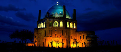 It is known as the largest brick dome in the world and the Mausoleum of Ilkhan Oljaytu.