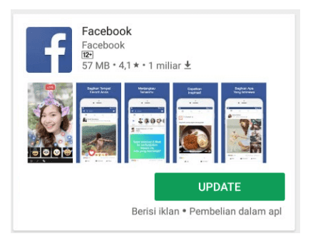 Update FB