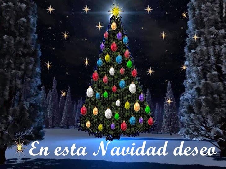 Saludos Frases Y Buenos Deseos De Navidadcon Hermosas