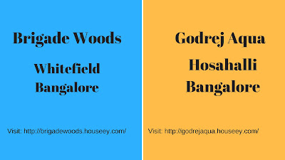 Brigade Woods and Godrej Aqua is located in Bangalore