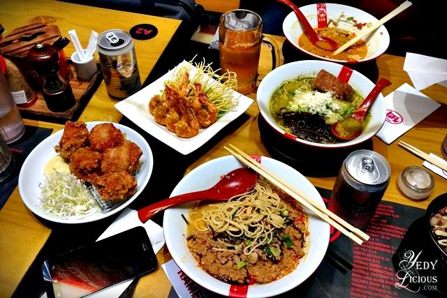 RAMEN NAGI MANILA, The Nagoya King Limited King Ramen. Ramen Nagi Manila PH Blog Review Menu Branches Website Facebook Instagram Twitter YedyLicious Manila Food Blog