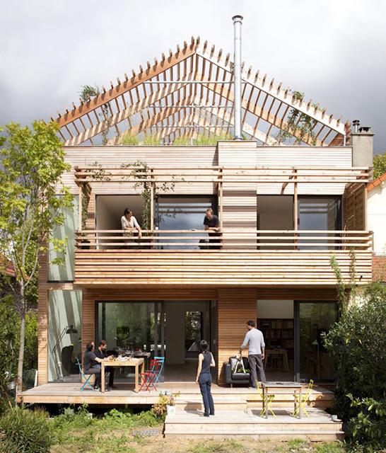 Sustainable Wooden House In Palermo: 27 Desain Gambar Rumah Kayu Minimalis Menghidupkan Imajinasi