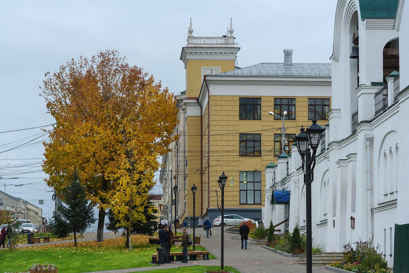Троицкий сквер. Иваново.