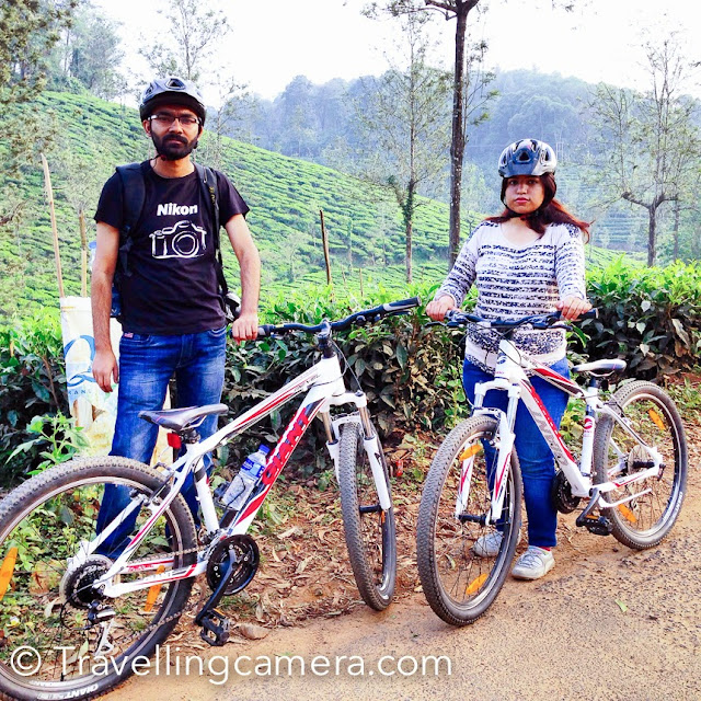 Cycling around the tea gardens was a cool experience in Wayanad region of Kerala state. There are plenty of other adventure activities in the region and more effective for groups of people. Cycling can be a lot of fun but you can't do cycling everywhere because road conditions are inconsistent.     5. Shopping of Bamboo products