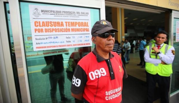 MTC denunciará a Municipio del Callao por cerrar puertas del aeropuerto Jorge Chávez