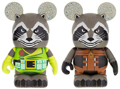 Rocket Raccoon Marvel Vinylmation Eachez Vinyl Figures by Disney – Comic Book Rocket Raccoon & Guardians of the Galaxy Movie Rocket Raccoon