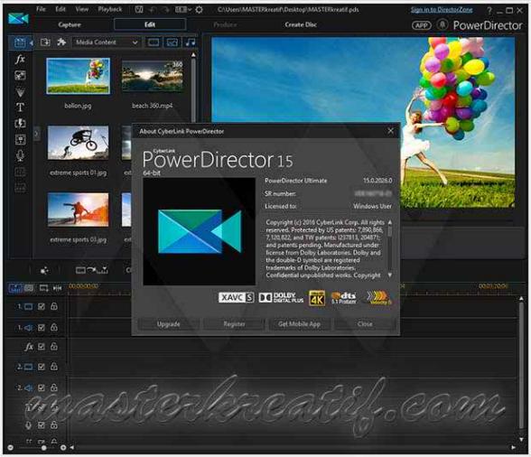 PowerDirector 15 Ultimate 64 bit