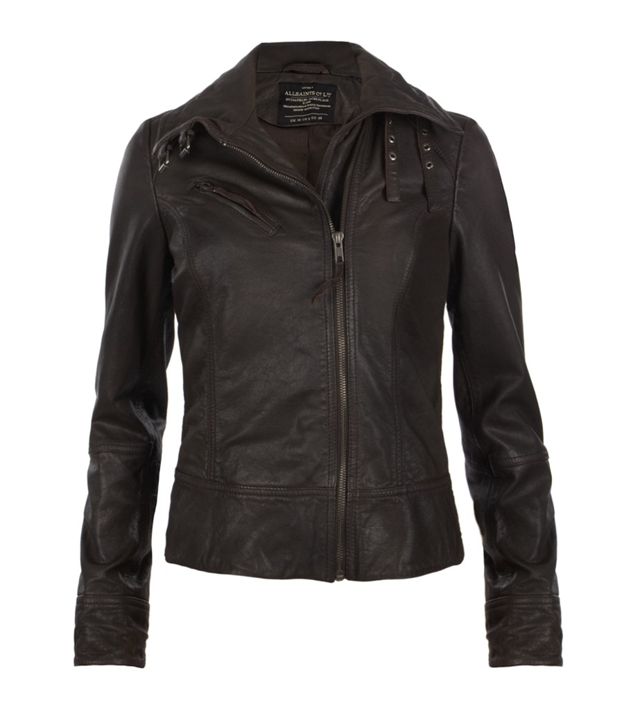 All saints sale leather jacket