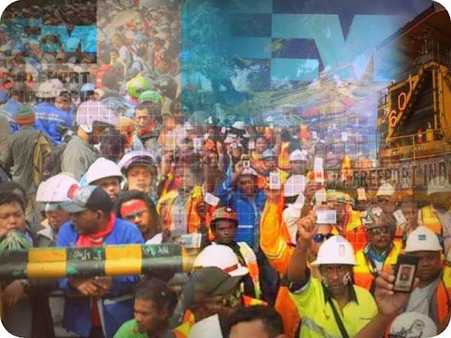 Ini Alasan Karyawan Freeport Indonesia Mogok Kerja pada 1 Mei