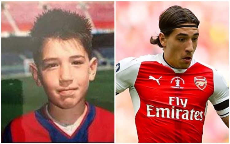Cute Childhood Pictures Of Arsenal FC Players