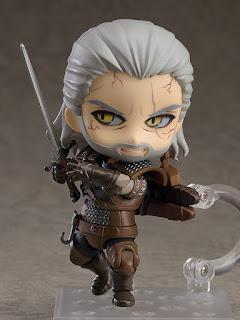 """Nendoroid Geralt de Rivia de """"The Witcher 3: Wild Hunt"""" - Good Smile Company"""