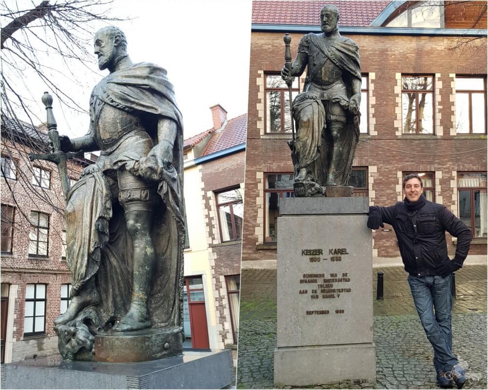 Estatua Carlos V en Gante