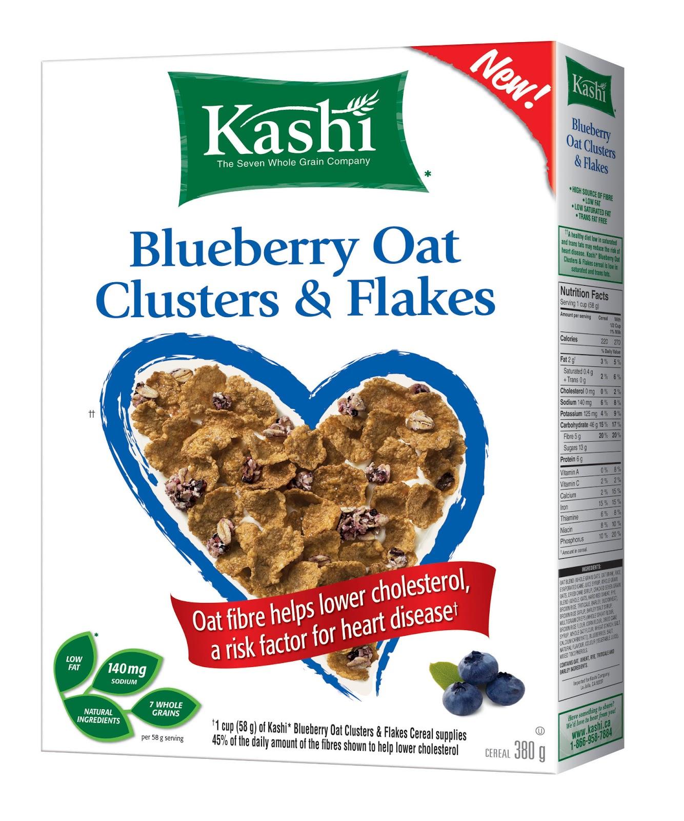 Spokesmama: Kashi Blueberry Cereal
