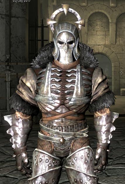 Skyrim Mods Highlights: The Witcher 3 Caranthir Armor