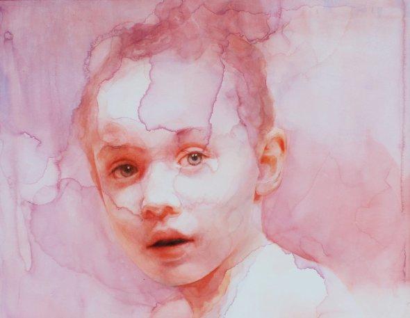 Ali Cavanaugh arte pinturas aquarelas surreais afrescos modernos coloridos manchados